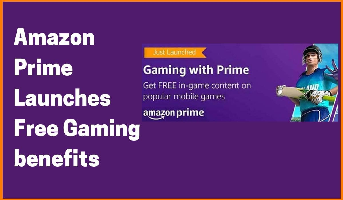 Amazon Prime Launches Free Gaming Benefits for Indian users
