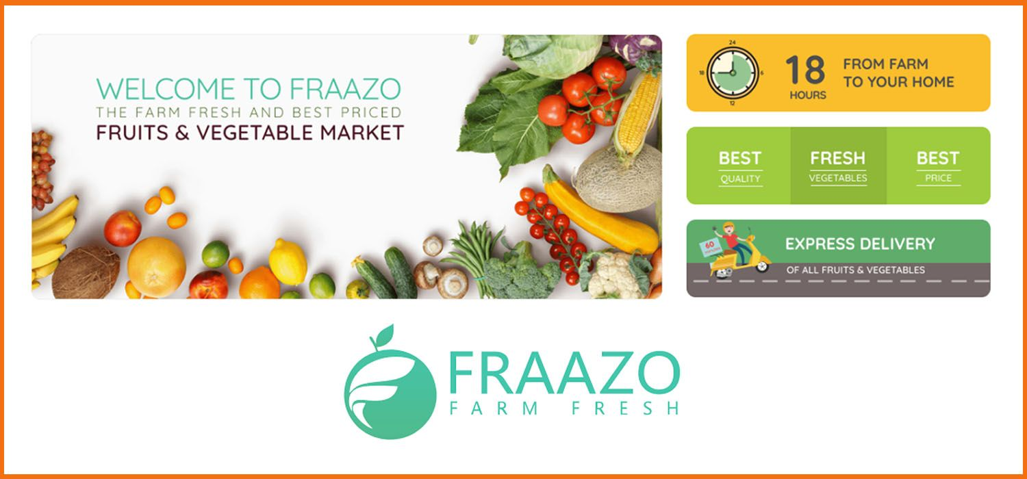 Consumer Agri-Tech Startup 'Fraazo' Introduces 'Society  Stores' to Minimise Touch Points for Supply Chain Hygiene