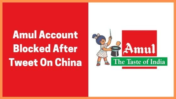 Tweet Attacking Chinese Dragon, Creating A Bittersweet Wall Between Twitter And Amul